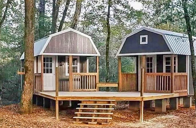The 'We-Shed' Is a Dual Shed For Him and Her In Abilene
